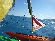 Sailing the Whitsunday Passage