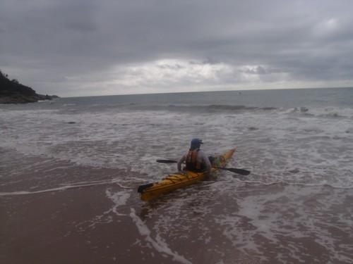 Beach Launching